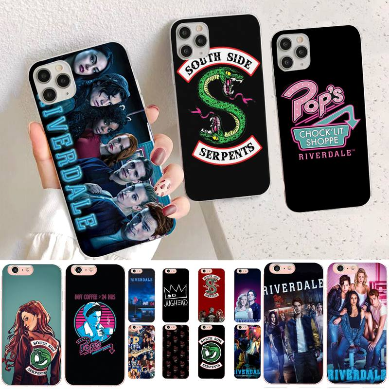 YNDFCNB American TV Riverdale Series Cole Sprouse Phone Case for iPhone 11 12 pro XS MAX 8 7 6 6S Plus X 5S SE 2020 XR case