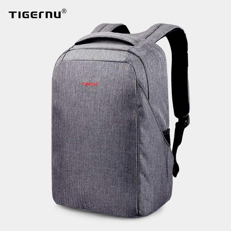 Tigernu-sac à dos Anti-choc pour femmes, chargeur USB 15.6 de bonne qualité, coque rigide, Anti-vol, cartable pour voyage
