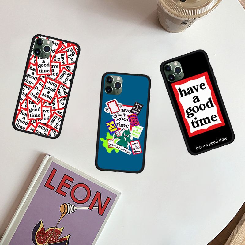JAMULAR Pop Song Have A Good Time TPU Soft Shell Case for iPhone 11 11Pro X XS XR Max 6 6S 7 8 Plus 9 SE2020 Phone Back Cover image