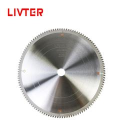 LIVTER T.C.T Saw Blades for Cutting aluminum alloy 10 inch 120 tooth aluminum saw blade
