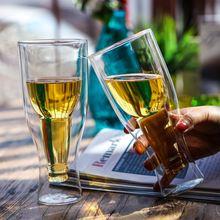 Кружка для пива с перевернутым соком чашка воды бара ресторана