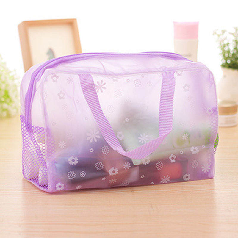 New Fashion Waterproof Portable Makeup Cosmetic Toiletry Travel Makeup Cosmetic Wash Toothbrush Pouch Organizer Bag