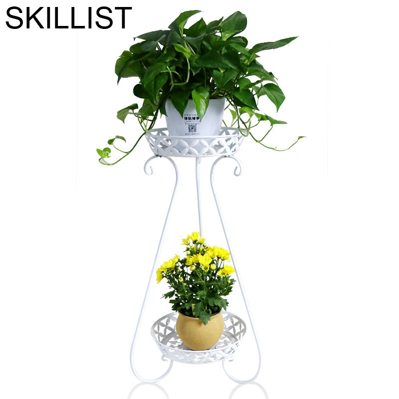 Balkon Iron Decoration Terrasse Mensole Per Fiori Outdoor Decor Varanda Decorative Metal Balcon Flower Stand Balcony Plant Shelf