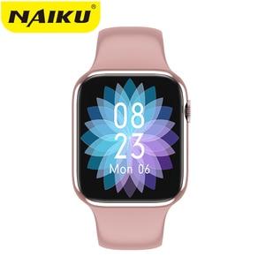 Смарт-часы W98 с функцией вызова по Bluetooth, пульсометром и термометром