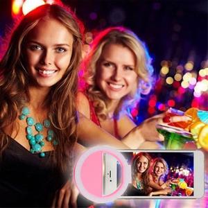 Портативный селфи вспышка Led клип-на мобильный телефон селфи свет ночной женский якорь красота Автоспуск лампа мини камера Фонарик