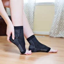 Copper Infused Magnetic Foot Anti-sprain Ankle Sports Socks Support