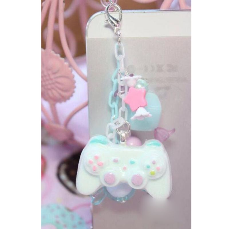 4-Styles Game Consoles Handle Pendant Silicone Resin Mold Jewelry Making Tools