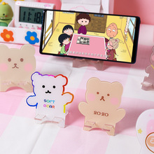 Mobile-Phone-Holder Phones Yisuremia Desk-Organizer Desktop Mini Portable Cute Kawaii