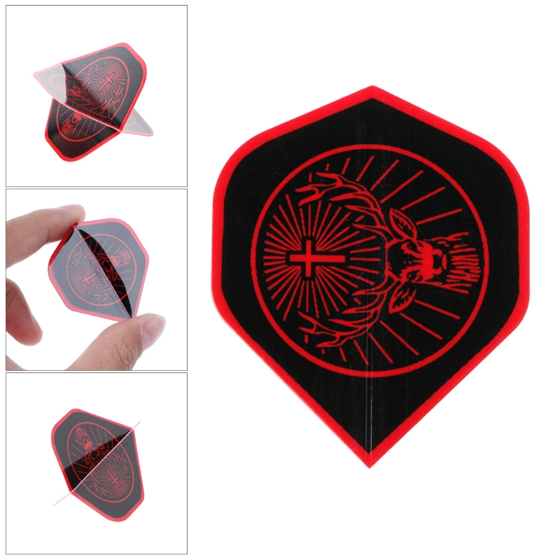 30 Pcs Nice Dart Flights Rare Pattern High Quality PET A6HC Suit For Table Games