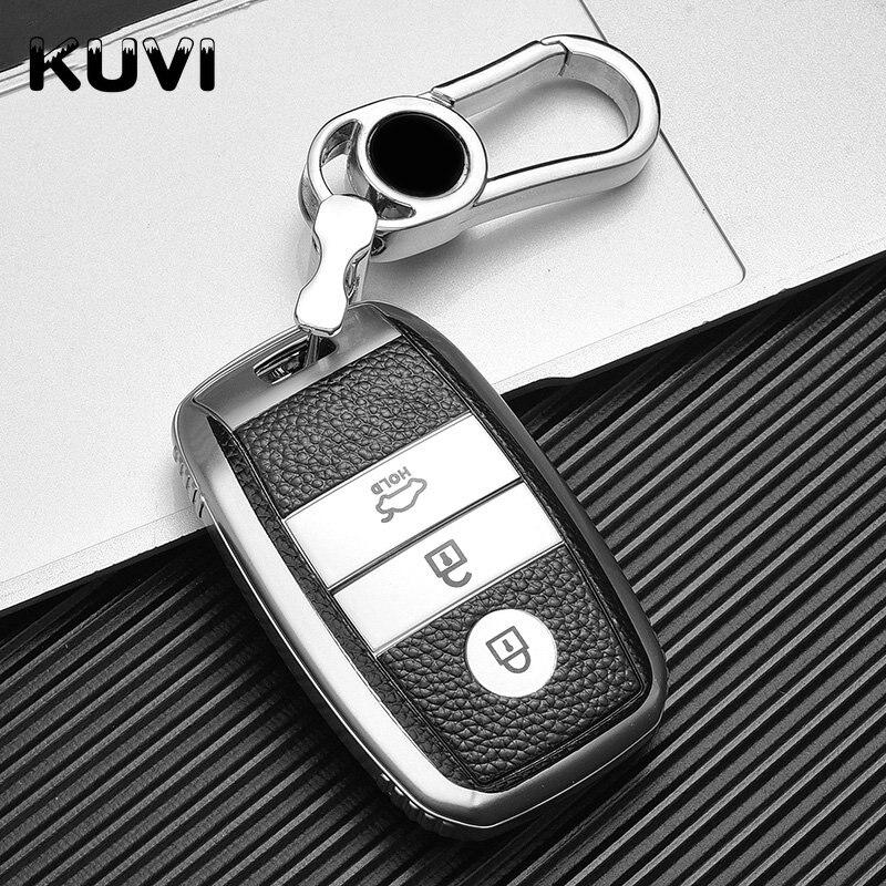 Кожаный автомобильный чехол с Дистанционным Ключом чехол для KIA Rio Rio5 Sportage Ceed Cerato K3 KX3 K4 K5 Cerato Sorento Optima Cerato Picanto