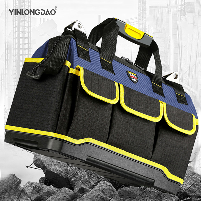 Tool Bag Electrician Large Capacity Repair Tool Kit Water Proof Bags Storage For Electricians Tools16 18 20Inch