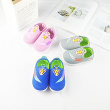 Baby Shoes Fall 2019 Fashion Soft Bottom Tight Injection Moulded Air-permeable Hot sale Cartoon Character style toddler shoes