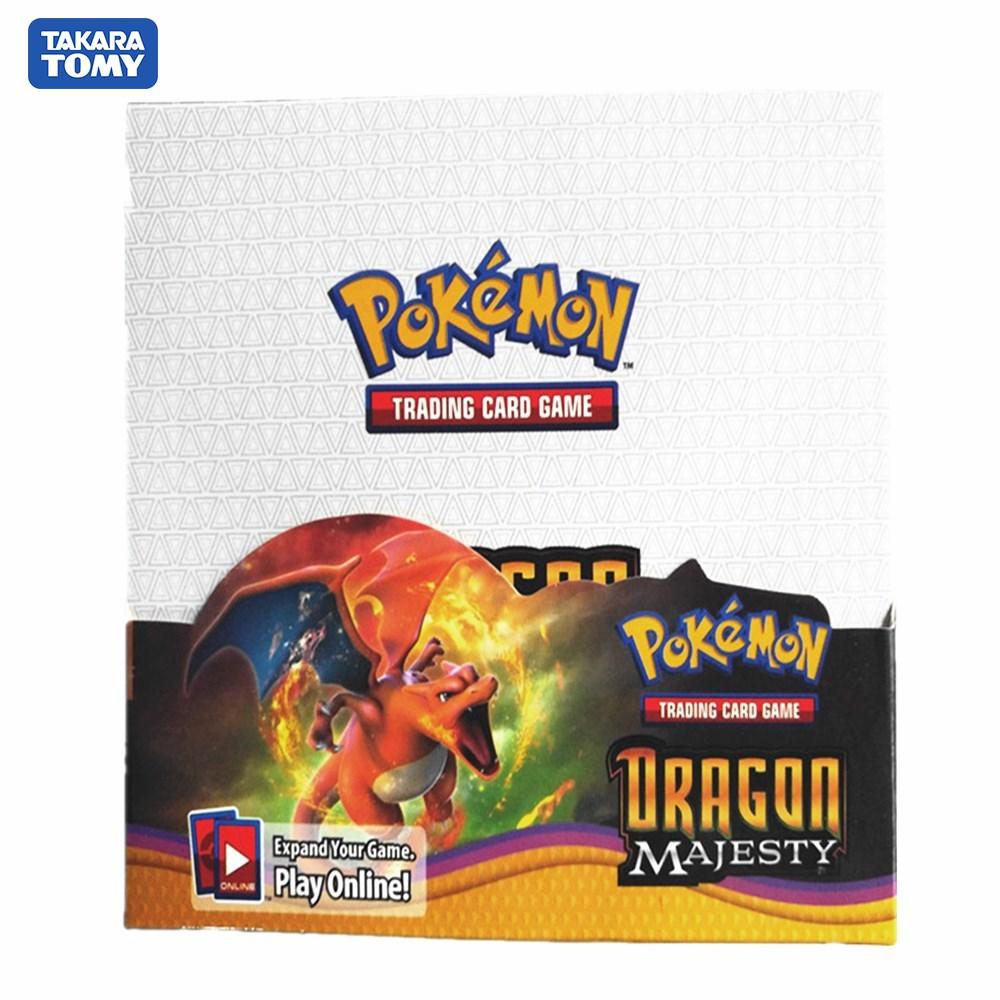 다카라 토미 324 카드 포켓몬 수집품 TCG XY Evolutions 봉인 된 부스터 박스 트레이딩 카드 게임 완구