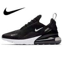 Оригинальная продукция Nike AIR MAX 270 мужские кроссовки для бега на открытом воздухе спортивные прочные кроссовки для бега 2018 Новое поступление...