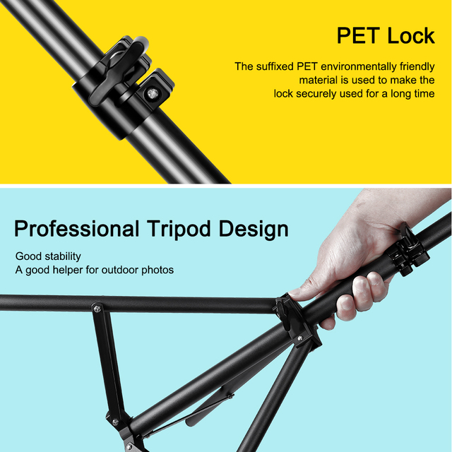 Tripod For Phone Tripod Stand Ring Light  1/4 Screw Head Flexible Selfie With Bluetooth Remote Control  Holder For Phone 4