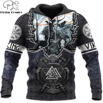 Fashion Men for women Viking hoodies 3D printed Tattoo Odin Sweatshirt Hoodie Harajuku Autumn Streetwear Unisex Casual Tracksuit 1
