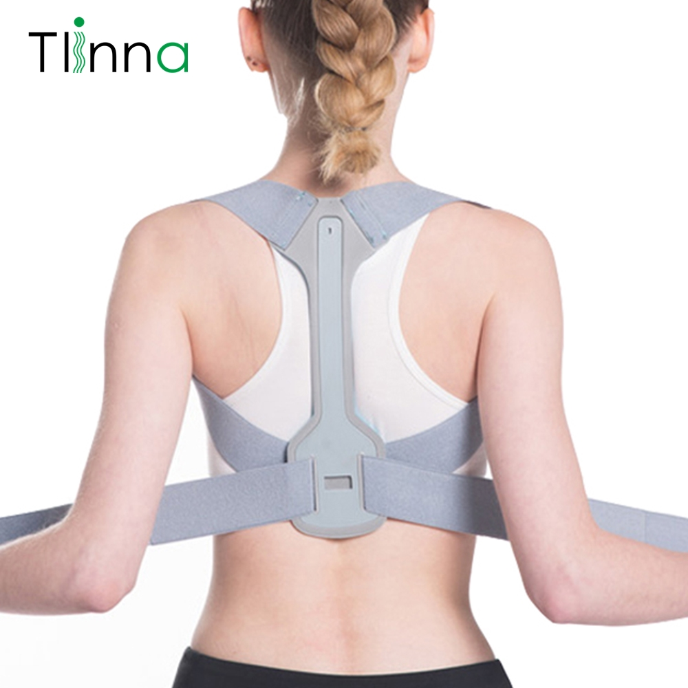 Back Shoulder Support Belt Clavicle Spine Posture Corrector Back Pain Relief Posture Correction Brace Straps Prevents Slouching(China)