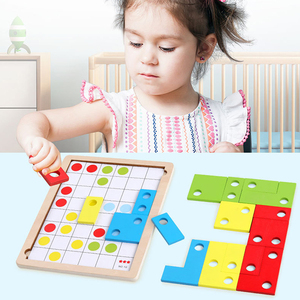 Wooden Baby Puzzle Toy Infant
