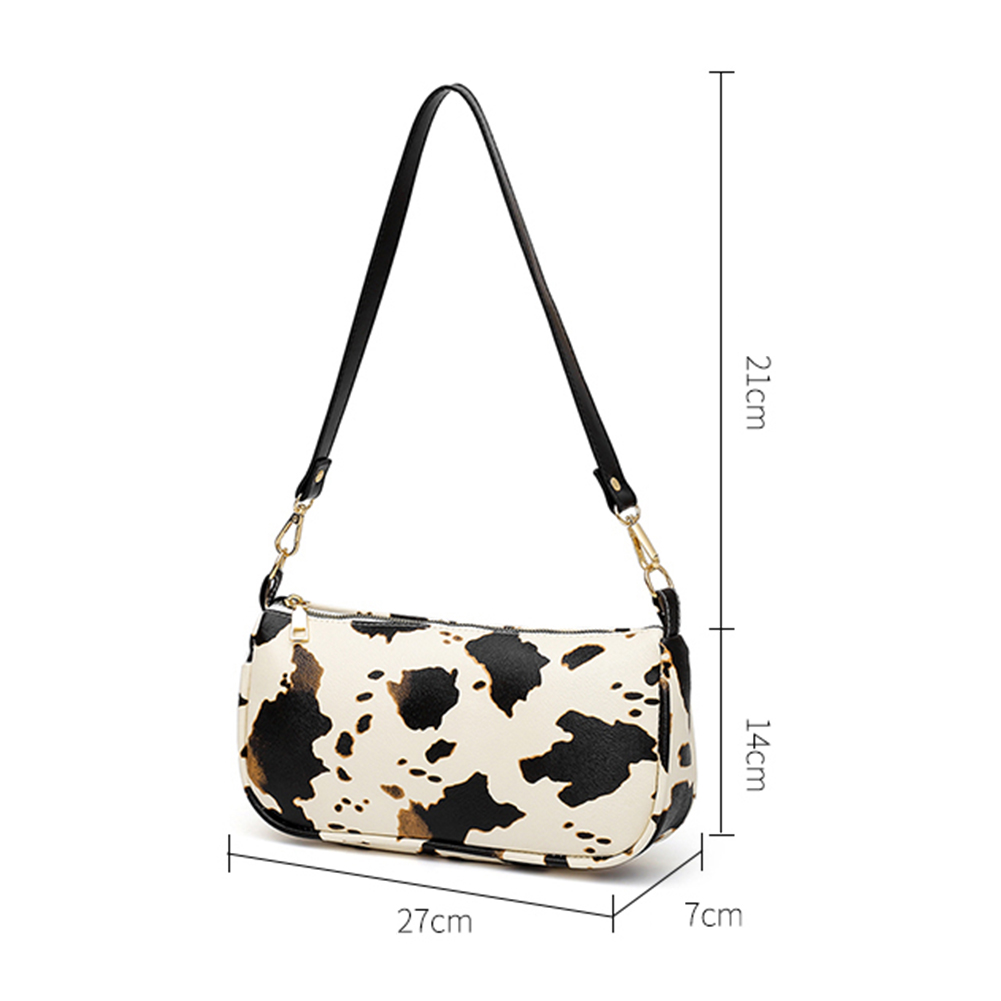 Retro Cowhide Look Tote Bag 10
