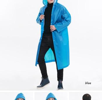 Waterproof raincoat men women wate
