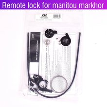 Manitou MILO remote lockout gabel Verdrahtete fernbedienung reparatur teile für Markhor M30 R7 Pro MRD Machete Marvel comp Fahrrad gabel(China)