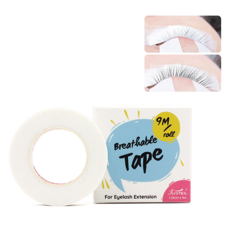 Under Patches Tool Sticker Eyelash Extension Supply Paper Eye Pads Adhesive Professional Lint White Lashes Patch Medical Tape