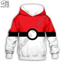 Kids Cloth Pokemon  Pikachu Cartoon 3d hoodies/tshirt/boy sweatshirt Hot Movie pant style-10