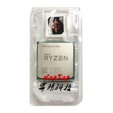 AMD Ryzen 5 2600 R5 2600 3.4 GHz שש ליבות עשר חוט מעבד מעבד YD2600BBM6IAF שקע AM4
