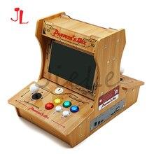 パンドラボックス 6 プラスチックbartop 2 プレーヤーミニアーケード機 10 インチデュアルスクリーンダブル格闘ゲームコンソールアーケード 3dゲーム