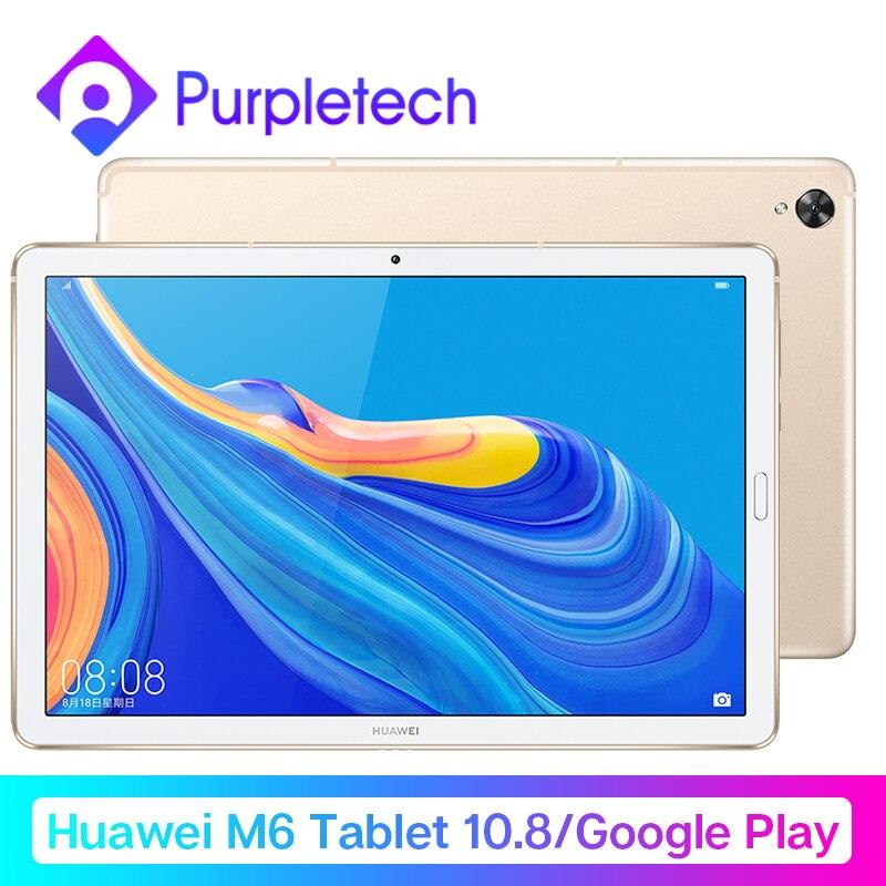 Huawei Mdiapad M6 планшет Android 10,8 ''wifi Настольный ПК Kirin 980 Восьмиядерный Android 9,0 Google play 7500 мАч отпечаток пальца ID GPU3.0
