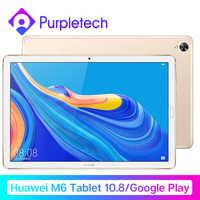 Huawei mdiapad m6 tablet android 10.8 wifi kirwifi mesa pc kirin 980 octa núcleo android 9.0 google play 7500 mah impressão digital id gpu3.0