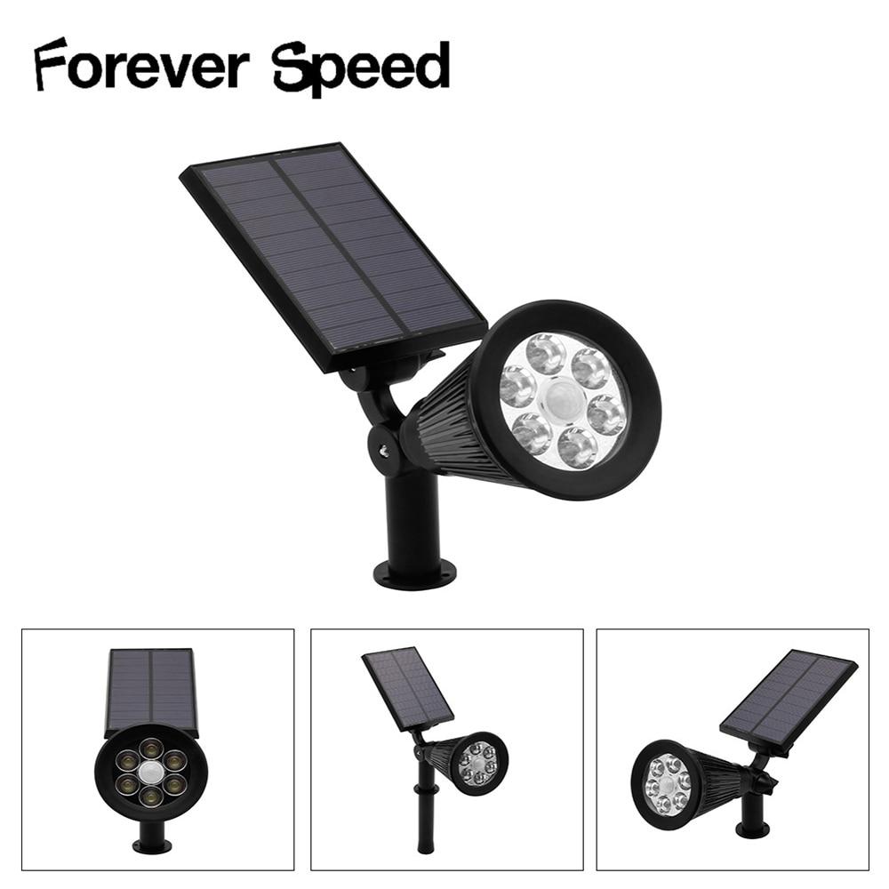 30 DEL énergie solaire RGB Projecteurs Paysage Extérieur Sécurité Lampe Lumière Nuit