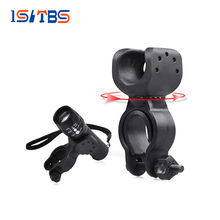 Flashlight-Accessories Mount-Holder LED Plastic 25MM-35MM 360-Degrees Rotate Metal-Material