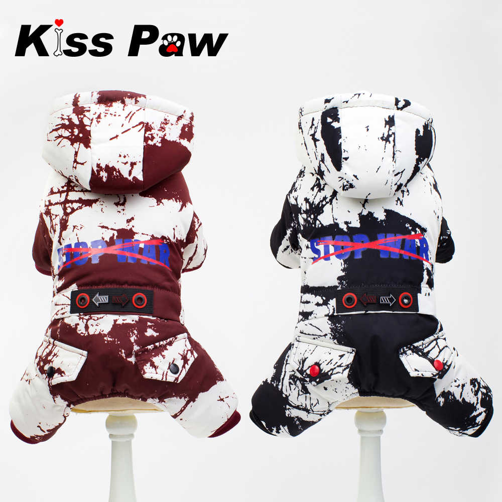 Camouflage Overalls For Dog Winter Dog Jumpsuit Waterproof Warm Thick Pet Dog Down Coat Parkas Puppy Yorkies Chihuahua Clothes