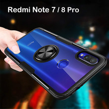 Finger-Ring-Case Magnetic Xiaomi Redmi Cover 8 pro-Cases for Note-7/9/8-pro 8t-10 9T