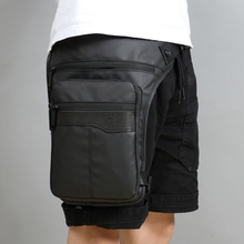 Men Waterproof Waist Drop Leg Bag Thigh Hip Bum Belt Fanny Pack Casual Shoulder Bag Motorcycle Ride Outdoor Running Sport Bags