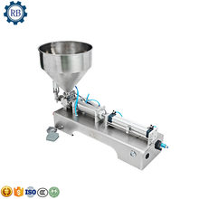 Electrical Semi-Automatic pneumatic liquid /paste cosmetic/food filling machine,essential oil filling machine(China)