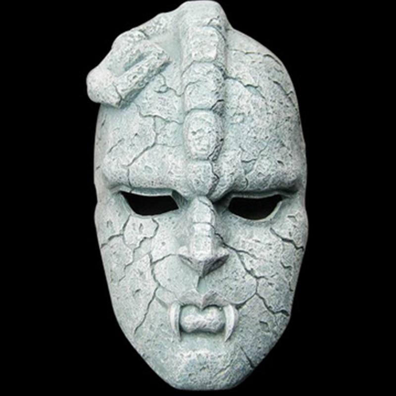 Stone Ghost Resin Cosplay Mask Juvenile Comics Bizarre Amazing Adventure Gargoyle Theme Halloween Masquerade Masks Props