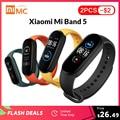 Smart Bracelet Fitness-Tracker Mi-Band Screen-Heart-Rate AMOLED Bluetooth Xiaomi Waterproof