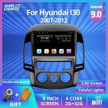 2din Android 9,0 Auto Radio Für Hyundai I30 2007-2016 Auto Multimedia Video Player Navigation Auto Stereo 2 Din auroradio Player