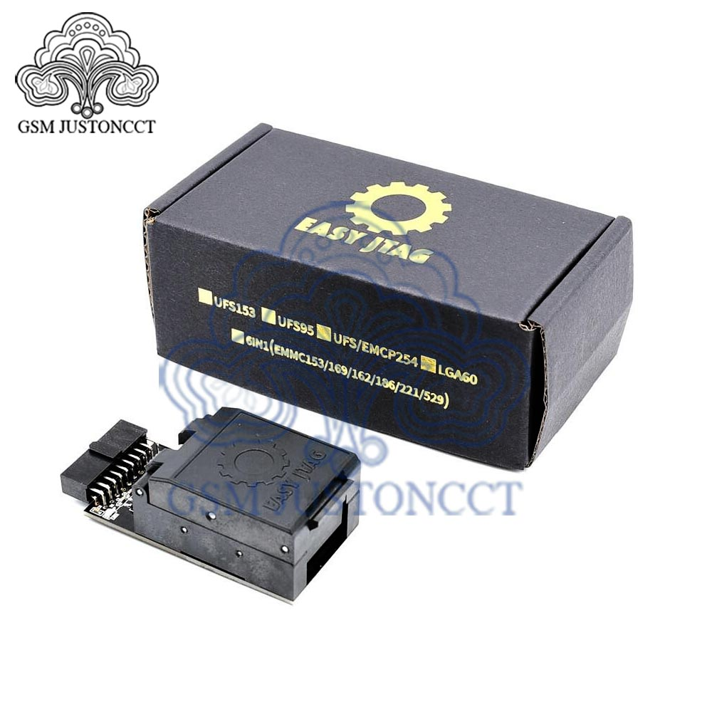 UFS BGA 254 Sockets Adapter for easy jtag plus box(China)