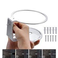 Tenedor con soporte de aluminio, soporte de montaje en pared para altavoz HomePod 24BB, versión mejorada