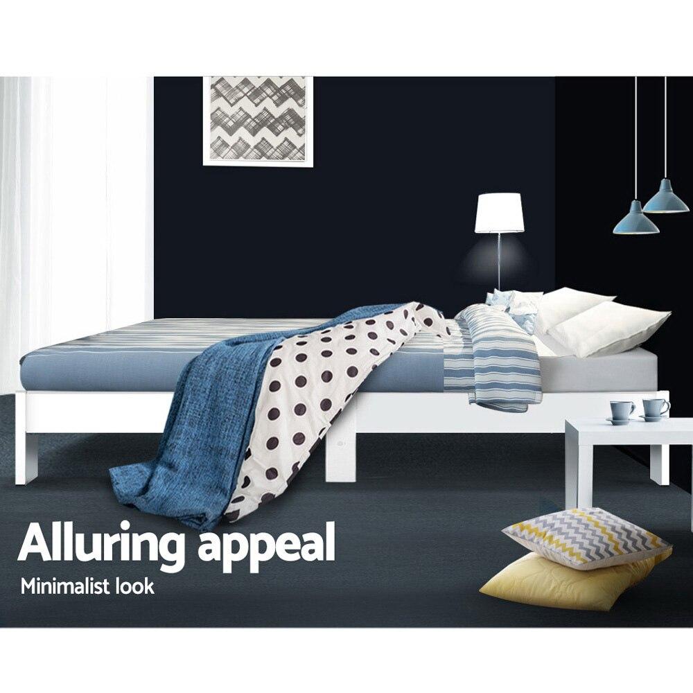 Artiss Base Timber Foundation Mattress Modern Soft Bedroom Furniture