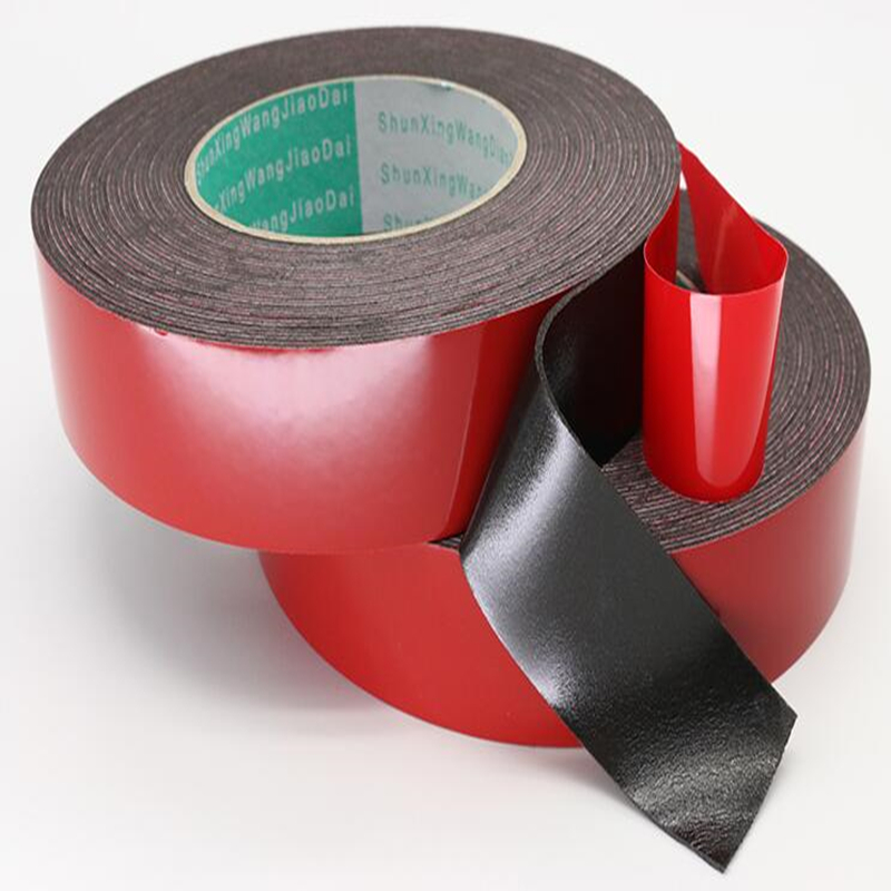 Купить с кэшбэком 1MM thickness Super Strong Double Faced Adhesive Tape Foam Double Sided Tape Self Adhesive Pad For Mounting Fixing Pad Sticky
