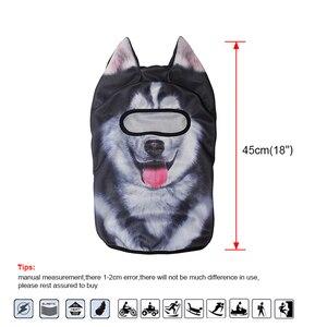 Image 5 - Lustige 3D Tier Ohren Balaclava Schädel Mützen Atmungsaktive Katze Hund Panda Fuchs Husky Volle Schild Kappe Hut Männer Frauen Gesicht maske Schutz