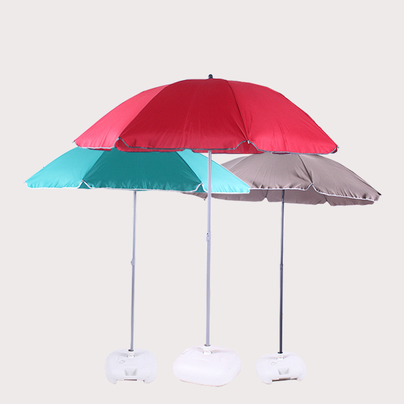 Manufacturers Direct Selling Fashion Modeling 2m8k Patio Umbrella Beach Umbrella Outdoor Umbrella College Style Parasol Factory