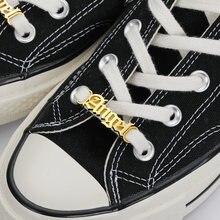 Именная застежка для обуви женщин и мужчин бирка аксессуары