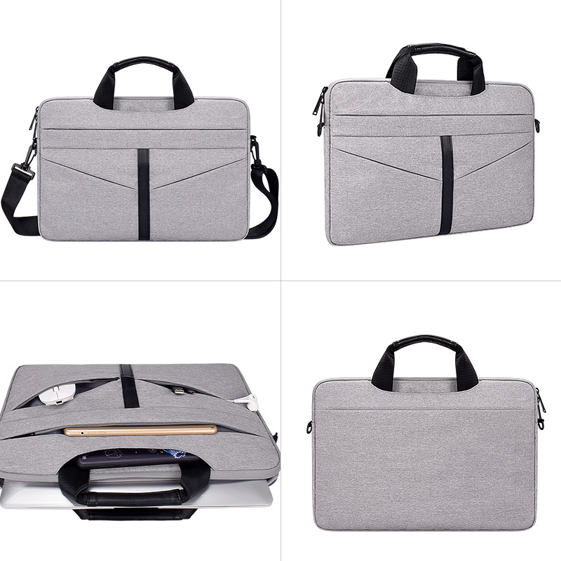 Oxford Cloth Laptop Bag for Dell Huawei Xiaomi Asus Lenovo Shoulderbag Cover Handbag for Macbook Air Pro 13 3 14 1 15 4 15 6 Bag in Laptop Bags Cases from Computer Office