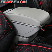 Styling Arm Rest Car Car-styling protector Modified Mouldings Upgraded Interior Armrest Box 12 13 14 15 16 17 FOR Kia K2