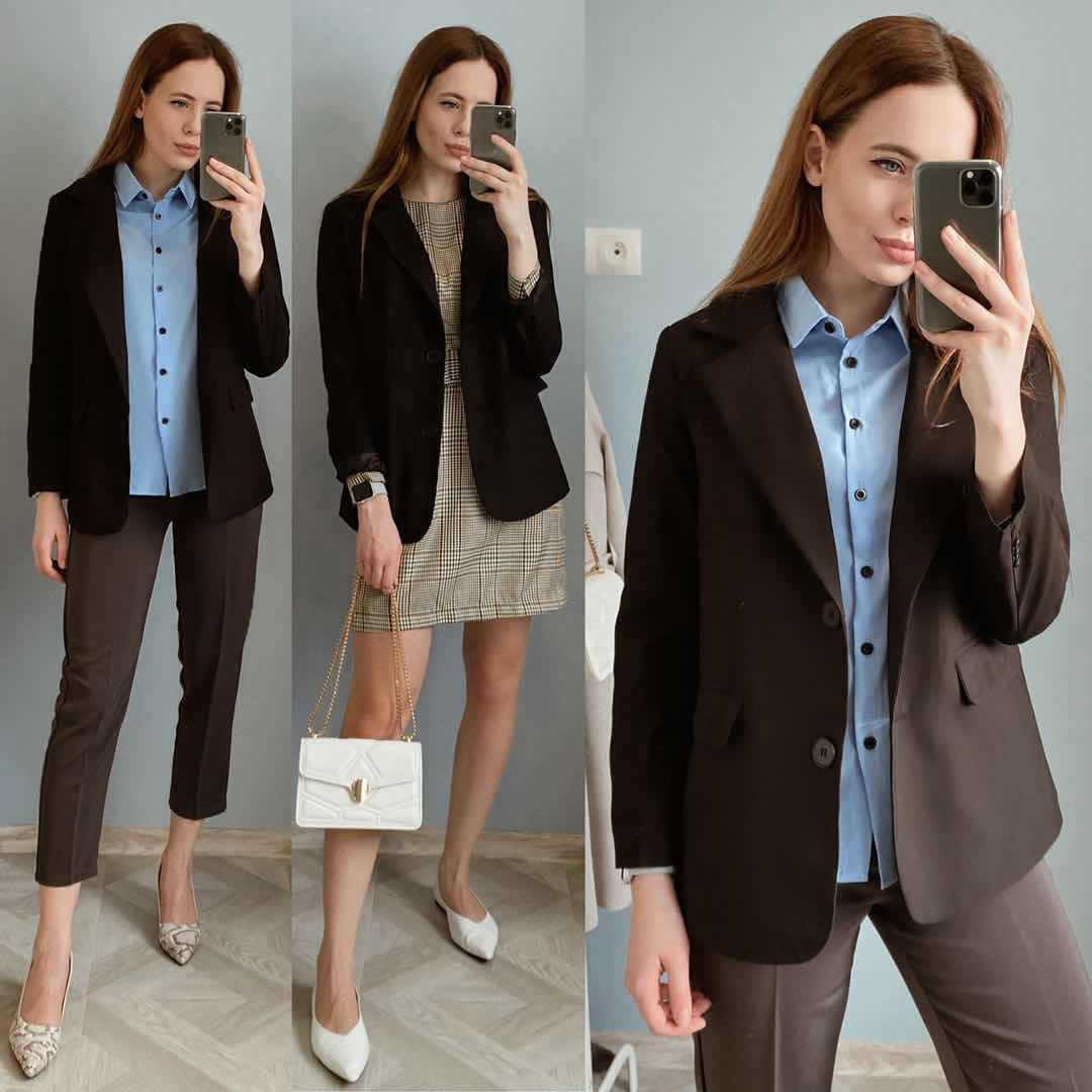 2019 New Blazer Women Clothes 2018 Fashion Casual Women Jacket Tops Long Sleeve With Buttons Office Lady Clothing